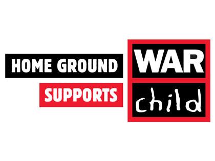 Home Ground supports War Child
