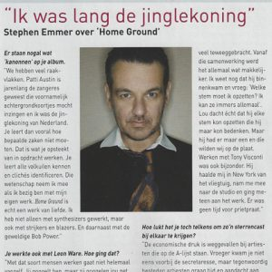 soundz interview stephen emmer jingle-koning
