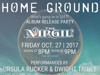 Home Ground LA Album Release Party