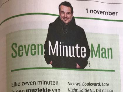 elke zeven minuten muziek tv Seven Minute Man 01