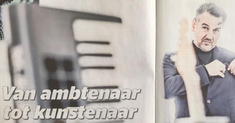 Stephen Emmer Van Ambtenaar Tot Kunstenaar